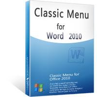 Menu Classico per Word 2010-2013