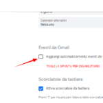 Inviti da Sconosciuti (spam) su Calendario Google: Come Risolvere